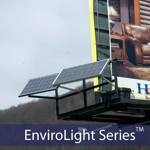 EnviroLight 2X 8 Hr. Solar Billboard Lighting Kit