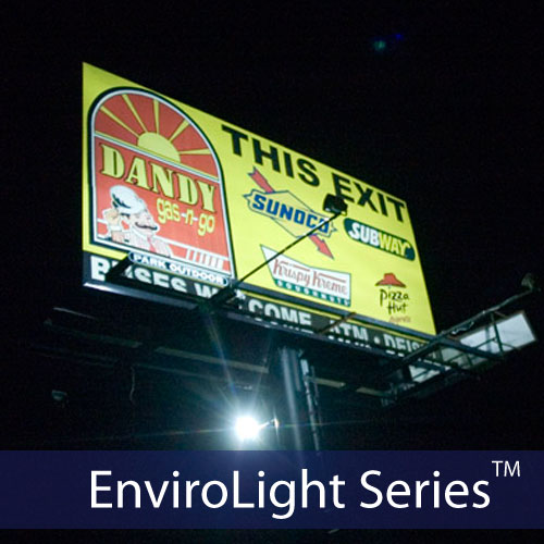 EnviroLight 4X Large Solar Billboard Sign Lighting Kit – Low Insolation