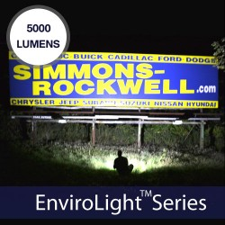 EnviroLight 2x 5000 Lumens Solar Billboard Lighting Kit