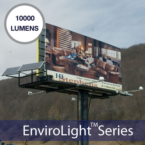 Retrofit Poster Panel Solar Billboard Lighting Kit EnviroLight 4X