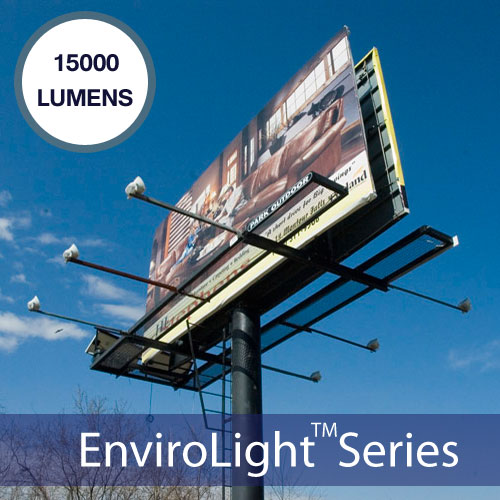 Commercial Solar Billboard Lighting Kits For 14 X 18