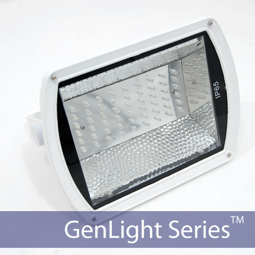 GenLight 54 LED Commercial Solar Sign Light