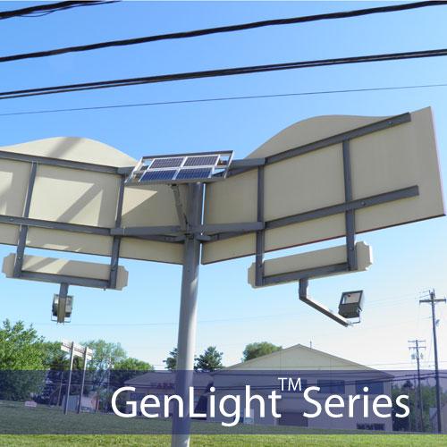 Solar Sign And Flood Light Kit 108 LEDS