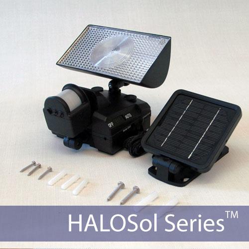 HALOSol Solar Security Light