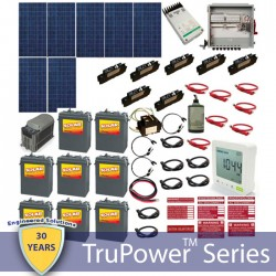 Hybrid Grid Tied System with Battery Backup-2100W