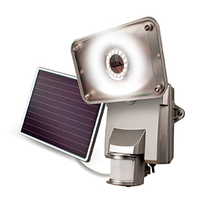 maxsa bright solar security light with 16 surface mount. Black Bedroom Furniture Sets. Home Design Ideas