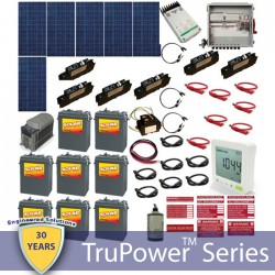 Hybrid Grid Tied System with Battery Backup-1800W