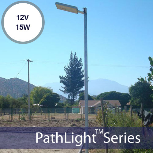 15W Solar Parking Lot Lights