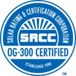 SRCC OG-300 Solar Hot Water & Heating Systems