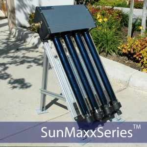 Sample SunMaxx Evacuated Tube Collector Demo Kit