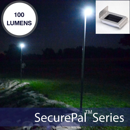 Solar Motion Sensor Flood Light Kit