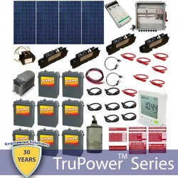 Hybrid Grid Tied System with Battery Backup-1200W