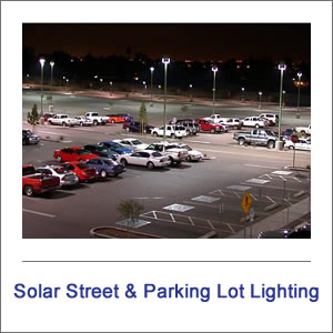 EnviroLight SX Solar Street & Parking Lot Lights