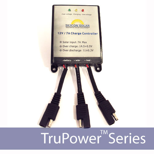 TruPower Charge Controller/Regulator 12V7A