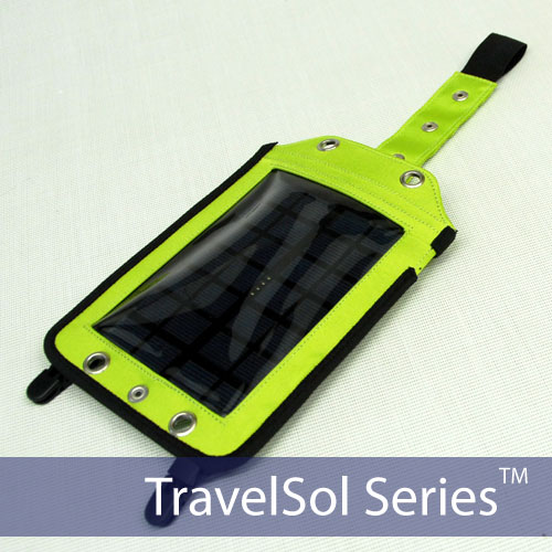 Portable Backpack Solar Battery Charger