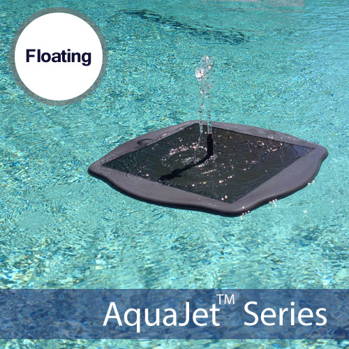 Floating Solar Fountain For Pond and Water Gardens