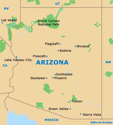 arizona_az_state_map