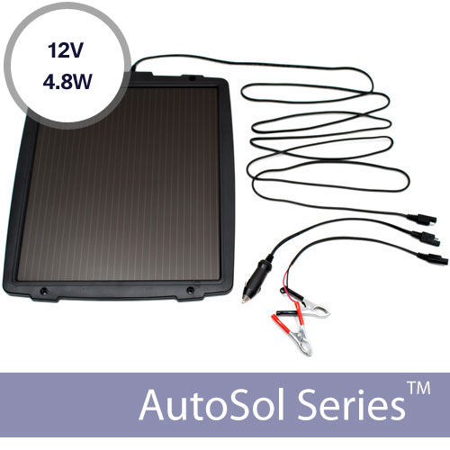 12v Automotive Solar Battery Charger 4.8W