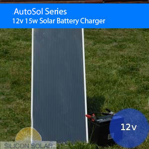 12v Solar Battery Charger 15W