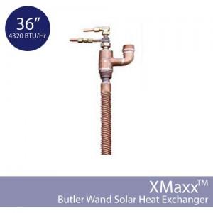 Butler Sun Solutions Solar Wand Heat Exchanger 36 Inch