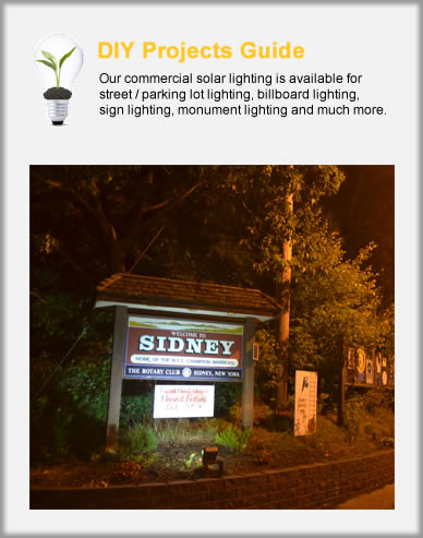 Commercial Solar Lights