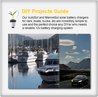 Solar Car & Boat Chargers