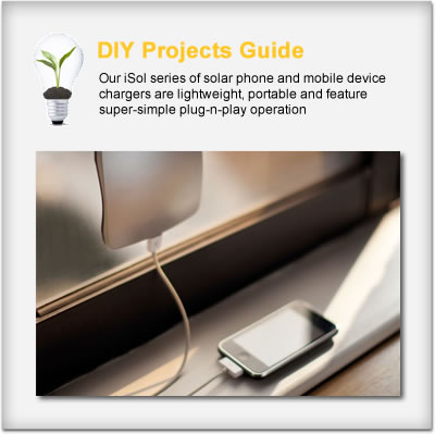 Solar Mobile Device Battery Chargers