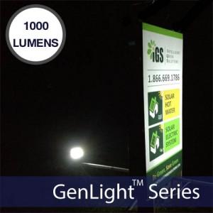 GenLight 120LED Solar Sign & Flood Light