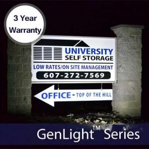 GenLight 120LED Solar Sign Light
