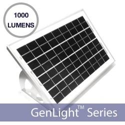 Solar Sign Amp Flood Light With 120 Leds 1000 Lumen Illumination
