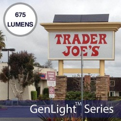Trader Joes: GenLight Internal Solar Sign Lighting System