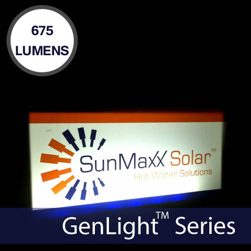 GenLight Waterproof Indoor & Outdoor Solar 150W LED Strip