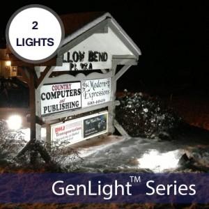 GenLight 4X Solar Sign & Flood Light