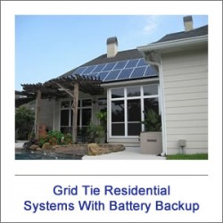 Grid-Tie Systems with Battery Backup
