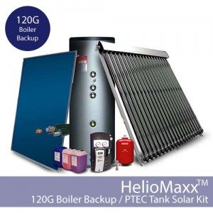 HelioMaxxPro Boiler Backup DHW Kit – 120G / PTEC (Collectors Not Included)