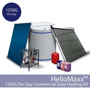 HelioMaxx Commercial Solar Thermal Kit – 1250G
