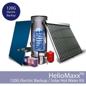 HelioMaxxPro Electric Backup DHW Kit – 120G / SE (Collectors Not Included)