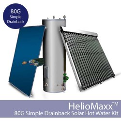 HelioMaxxDB Drainback DHW Kit – 80G / SDB (Collectors Not Included)