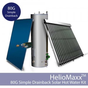 HelioMaxxDB Drainback DHW Kit – 80G / SDB (Collectors Not Included)