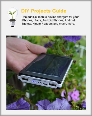 iSol Mobile Device Solar Battery Chargers