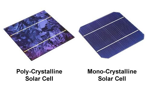 Poly vs Mono-Crystalline Solar Cells
