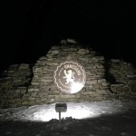 Ommegang Brewery Solar Sign Lighting Installation 01