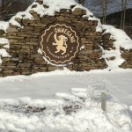 Ommegang Brewery Solar Sign Lighting Installation 03