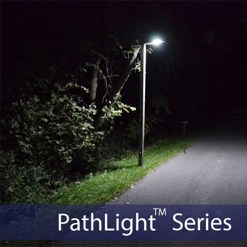 12W LED Solar Powered StreetLight