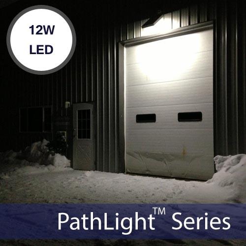 12W LED Solar Powered StreetLight