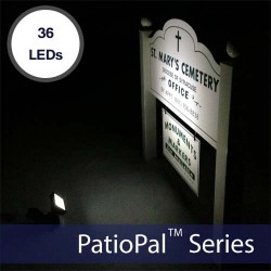 PatioPal 36LED Solar Spot & Flood Light