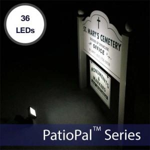 PatioPal 36LED Solar Spot & Flood Light