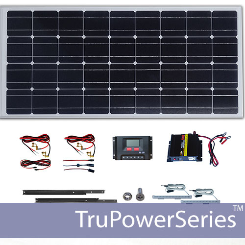 Diy solar panel kits to build your own solar panels trupower portable solar power system 500w solutioingenieria Choice Image