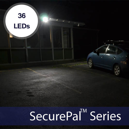 Solar Security Light 2x