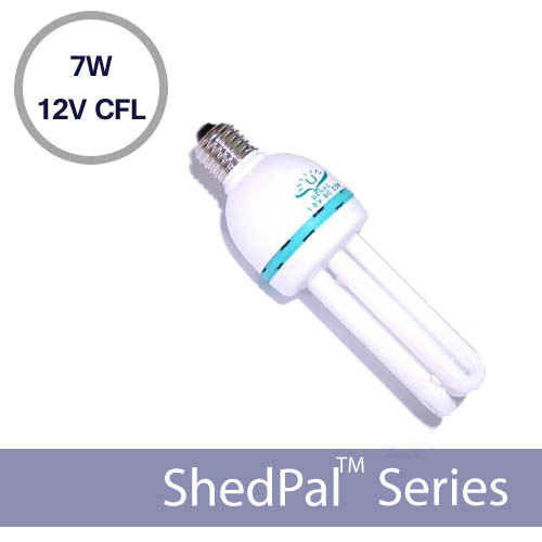 12V Solar Fluorescent Light 7 Watts